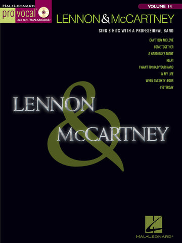 Pro Vocal Volume 14: Lennon And McCartney (Voice + CD)