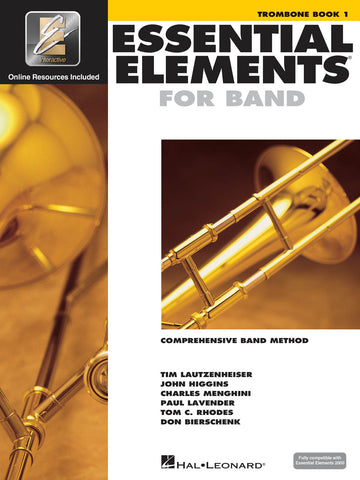 Essential Elements Book 1 Trombone BC (with Online Audio)