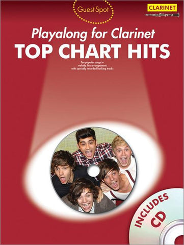 Guest Spot Playalong for Clarinet - Top Chart Hits (with CD)