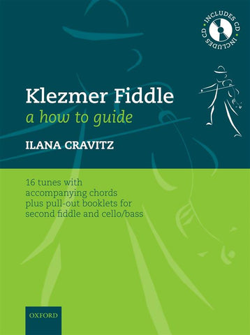 Klezmer Fiddle - A How-to Guide (Violin and parts for Violin 2/Cello or Bass + CD)