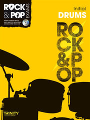 Trinity Rock + Pop Exams: Drums Initial (with CD)