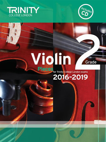 Trinity Violin Exam Pieces - Grade 2 2016-2019 - Violin + Piano (with CD)