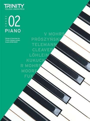Trinity College London: Piano Pieces + Exercises 2018-2020 - Grade 2