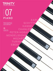 Trinity College London: Piano Pieces, Exercises + Teaching Notes 2018-2020 - Grade 7 (with CD)