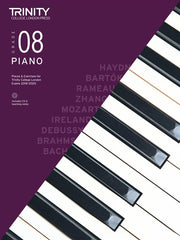 Trinity College London: Piano Pieces, Exercises + Teaching Notes 2018-2020 - Grade 8 (with CD)