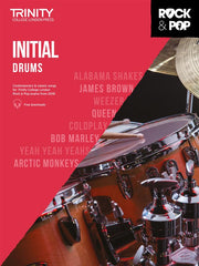 Trinity Rock + Pop Exams: Drums Initial (from 2018)