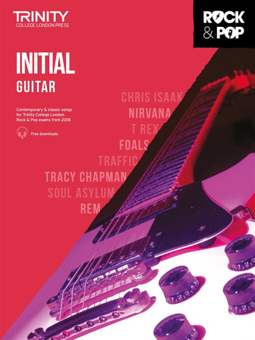Trinity Rock + Pop Exams: Guitar Initial (from 2018)