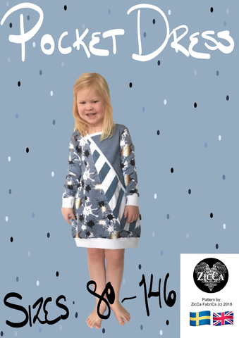 Pocket Dress - PDF Sewingpattern REA 40%