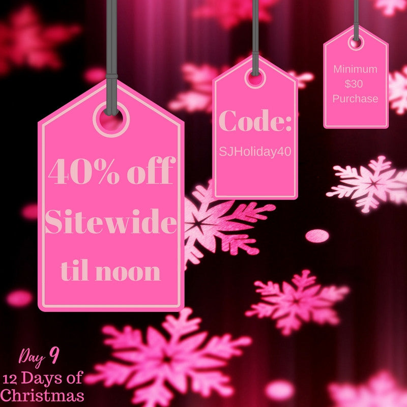 Day 9 is a Big Sale Y'all!!!