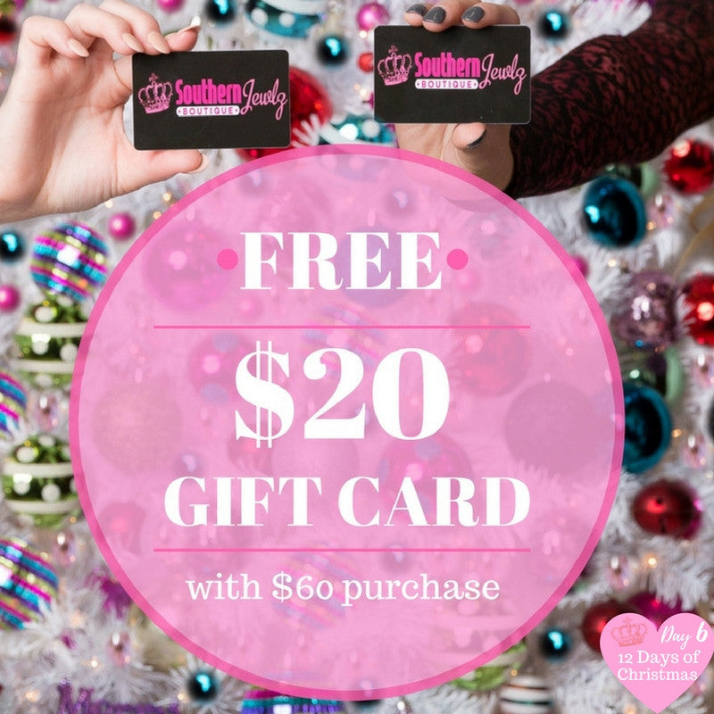 Day 6: Free Gift Card w/ Purchase