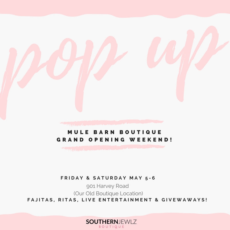 Pop Up Shop Time!