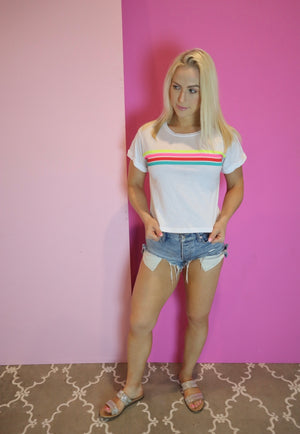 LOUNGE ABOUT NEON TEE