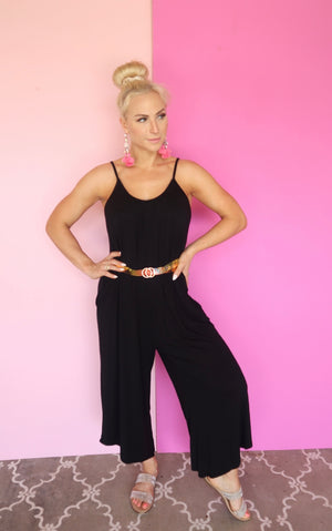 Copy of CHASING DREAMS JUMPSUIT black