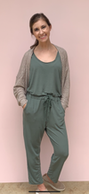 COFFEE CASUAL JUMPSUIT