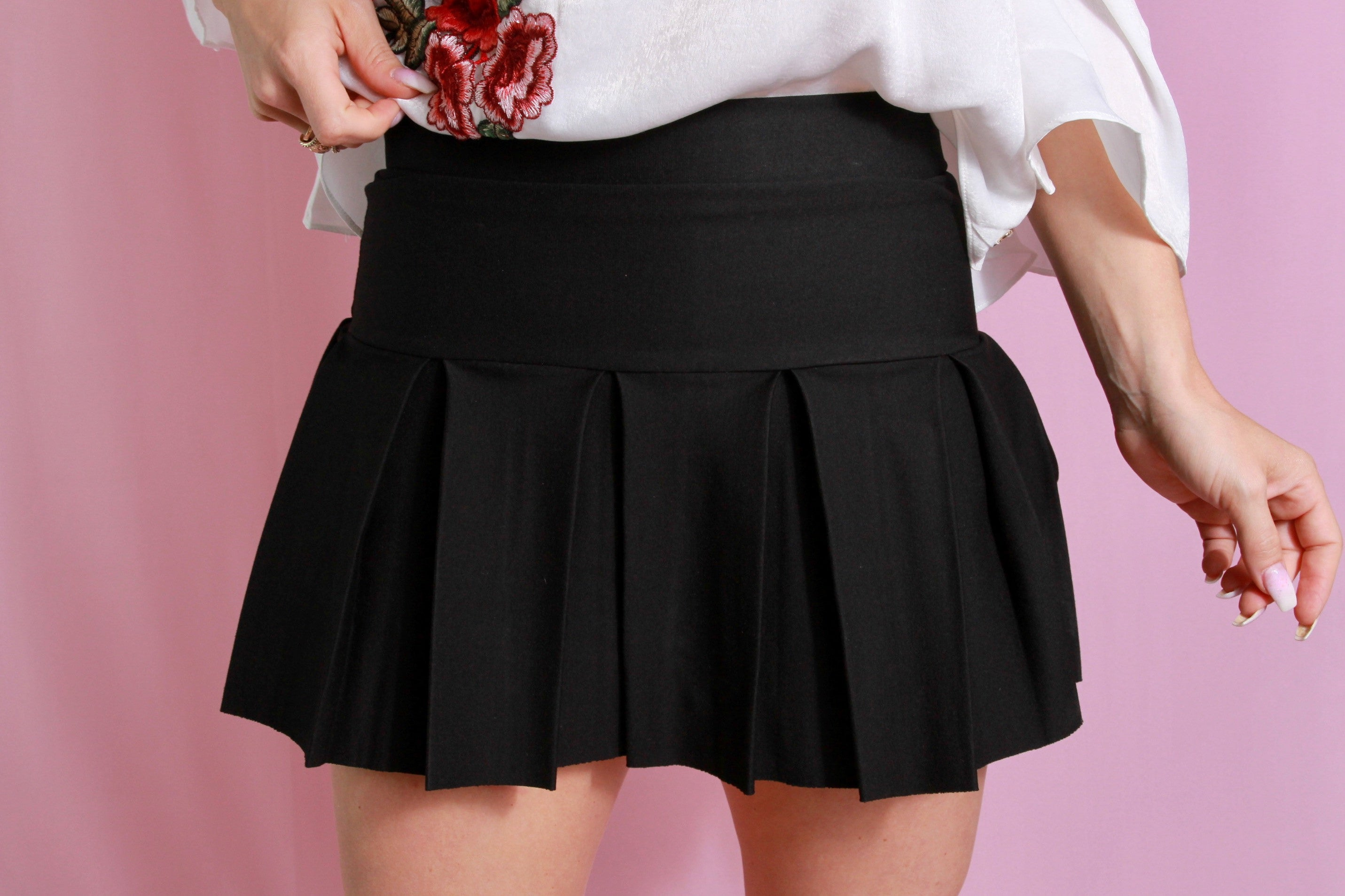 Girly Girl Pleated Skirt