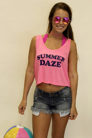 Summer Daze Crop Tank
