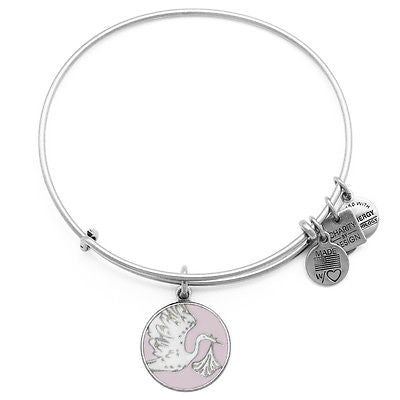 Alex & Ani Pink Special Delivery Bangle