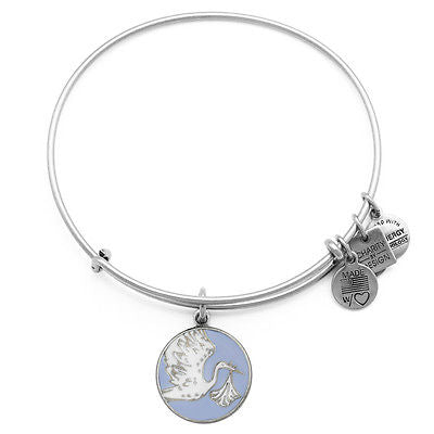 Alex & Ani Blue Special Delivery Bangle