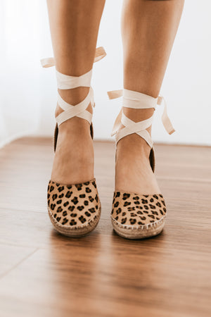 Matisse Firefly Wedge in Leopard