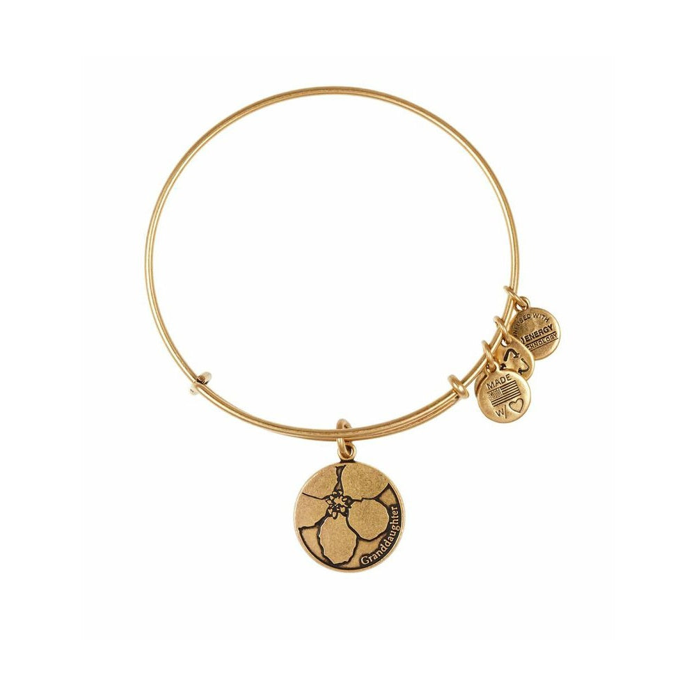 Because I Love You Granddaughter Alex & Ani Bangle