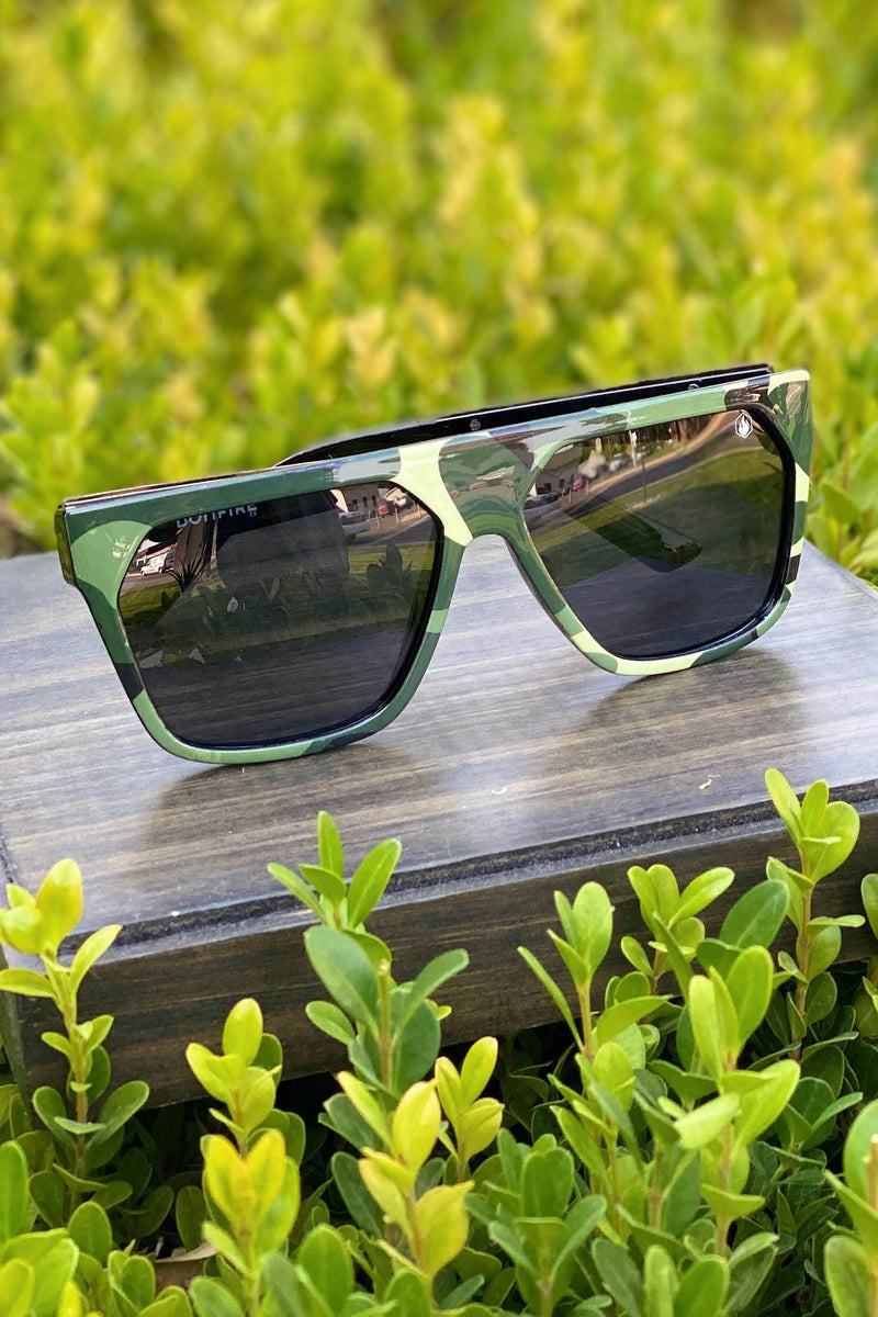 American Bonfire Grit Sunglasses in Camo