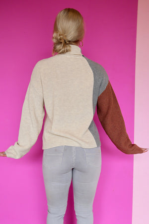 Taylor Colorblock Sweater