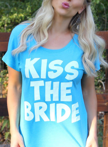 Kiss The Bride - Blue
