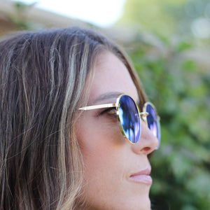 American Bonfire Roam Sunglasses in Blue