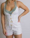 Clarity White Romper