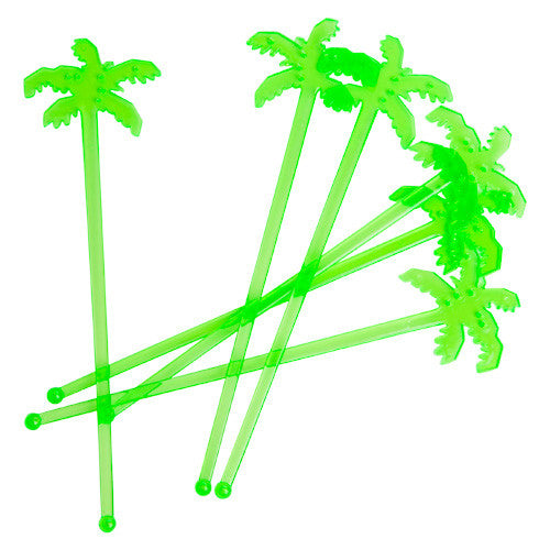 Palm Tree Drink Stirrers
