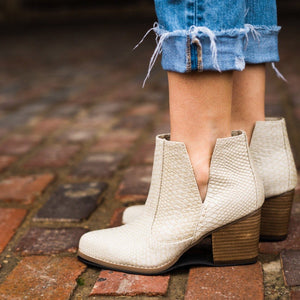 Not Rated Tarim Bootie in Cream