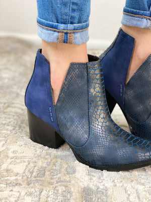 Not Rated Tarim Bootie in Navy Blue