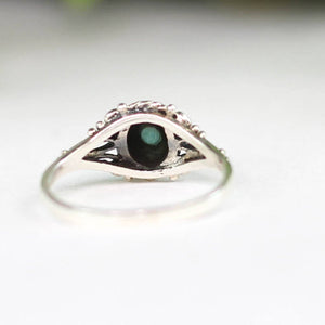 Round Turquoise Stacker Ring