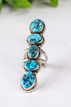 Betta Lee 5 Turquoise Stone Ring