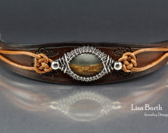 Lisa Barth - Woven Leather Bracelet (2 Day Workshop)