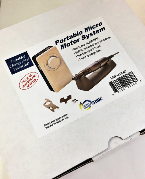 Portable Micro Motor System