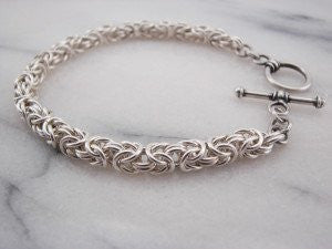 Chainmaille - Byzantine Bracelet