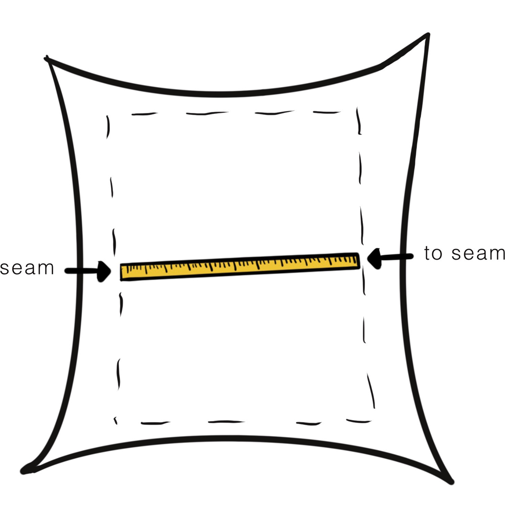 Accurately Measure a Pillow Cover