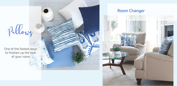 Fastest ways to freshen up the look of your room | Throw Pillows
