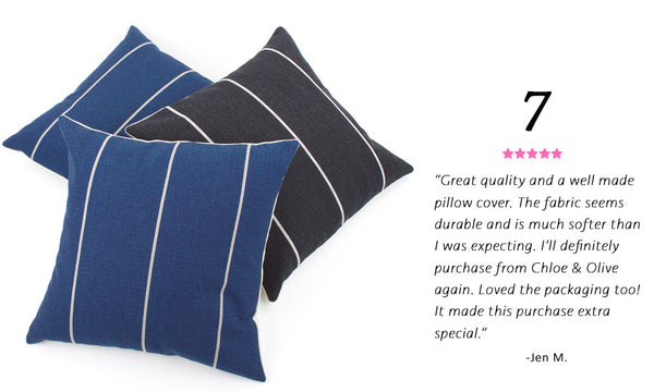 Best Selling Contemporary Pillow - Streamline Reversible Pillow
