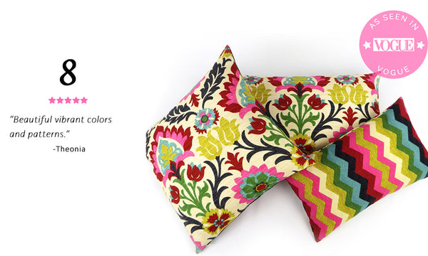 Best Selling Colorful Mexican Floral Pillow - Cinco de Mayo Reversible Pillow
