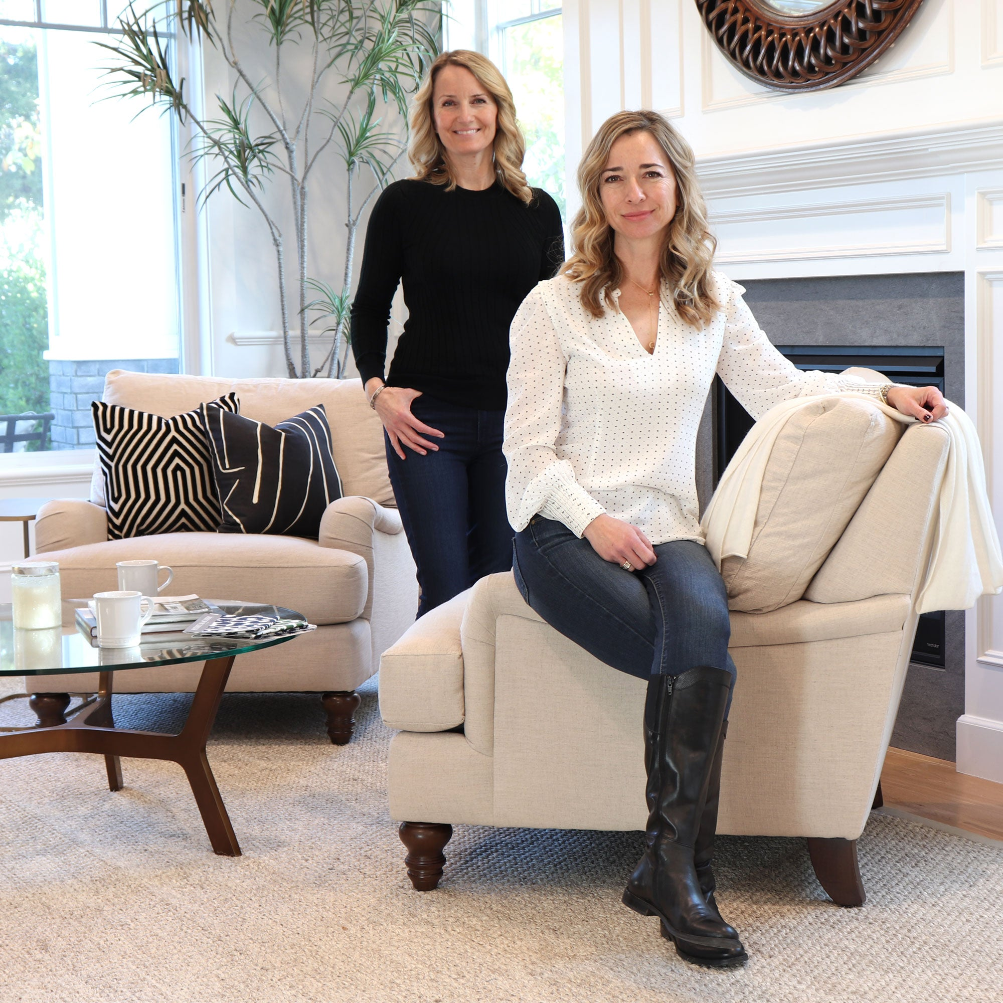 Chloe and Olive Founders