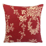 Country House Red Pillow Cover