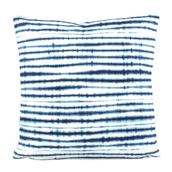 Delsi Indigo Designer Throw Pillow Cover