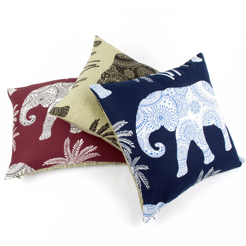 Elephant in the Room Decorative Throw Pillow