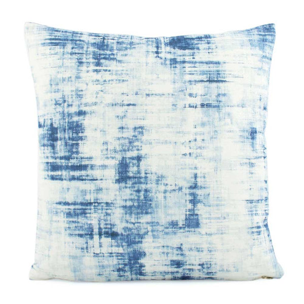 Grayson Blue Designer Throw Pillow Cover