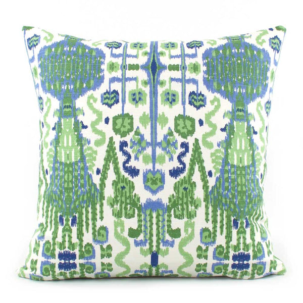Jaipur Kelly Green Designer Throw Pillow Cover