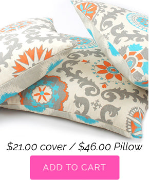 Pinwheel Decorative Throw Pillow