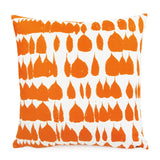 Queen of Spain Carrot Orange Pillow Cover