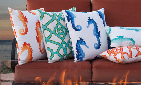Chloe & Olive Outdoor Pillows